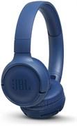 (1014861) Гарнитура накладные JBL T500BT синий беспроводные bluetooth