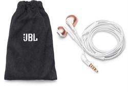 (1014859) Гарнитура вкладыши JBL T205 1.2м розовое золото проводные