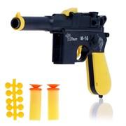 """(1014941) Пистолет """"М-16"""", стреляет тремя видами пуль, цвета МИКС 1975044"""