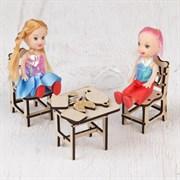 """(1014967) Кукольная мебель """"Столовая"""" 2502747"""