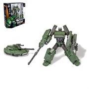 """(1014979) Робот-трансформер металлический """"Громобот"""" 2598135"""