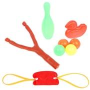 """(1014991) Рогатка """"Шалапай"""", стреляет шариками, с мишенями, цвет МИКС 2624308"""