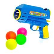 """(1015076) Пистолет """"Шот"""", стреляет шариками, цвета МИКС 435550"""