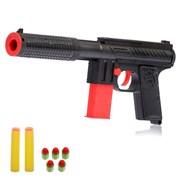 """(1015159) Пистолет """"Крутой стрелок"""", стреляет мягкими пулями 1164937"""