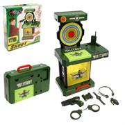 """(1015185) Игровой модуль """"Милитари"""", световые и звуковые эффекты, работает от батареек 190632"""