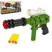 """(1015204) Автомат """"Хищник"""", стреляет гелевыми шариками и мягкими пулями, МИКС 2872399"""