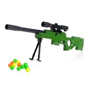 """(1015219) Винтовка """"Тропический снайпер"""", стреляет шариками   3629136"""