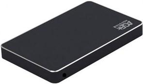 "(1015323) Внешний корпус для HDD/SSD AgeStar 3UB2AX1C SATA I/II/III алюминий черный 2.5"""