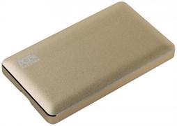 "(1015322) Внешний корпус для HDD AgeStar 3UB2A16C SATA алюминий золотистый 2.5"""