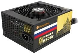 (1015315) Блок питания Thermaltake ATX 850W MOSCOW W0428 80+ gold (24+8+4+4pin) APFC 135mm fan 12xSATA Cab Man