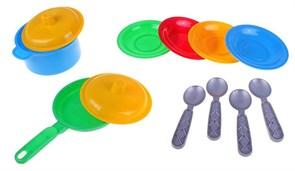 """(1015619) Игрушка """"Посуда  Маринка 2"""" 12 предметов 0694 590026"""