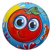 """(1015452) Мяч детский """"Апельсин"""" 22 см, 60 гр   1892642"""