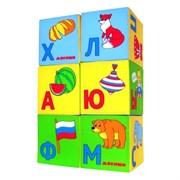 """(1015626) Набор мягких кубиков """"Азбука в картинках"""" 207 692283"""