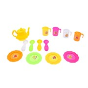 (1015605) Набор посуды в сетке, 12 предметов, цвета МИКС 506672