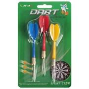 (1015613) Стрелы для дартса (набор 3 шт), цвета микс 533752