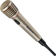 (1015669) Микрофон KARAOKE MIC-140 GREY 64140 DEFENDER