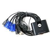 (1015674) KVM-переключатель USB 2PORT W/CAB CS22U-A7 ATEN