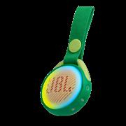 (1015995) Колонка портативная JBL JR Pop зеленый 3W 1.0 BT/USB 650mAh (JBLJRPOPGRN)