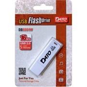(1015341) Флеш Диск Dato 16Gb DB8001 DB8001W-16G USB2.0 белый
