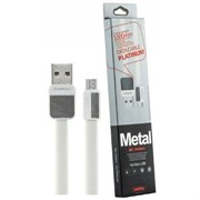 (1016014) USB кабель micro REMAX Platinum RC-044m (1m) white