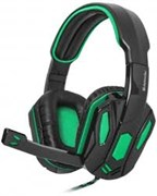 (1016032) Гарнитура GAMING WARHEAD G-275 GREEN/BLACK 64122 DEFENDER