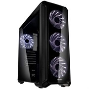 (1016023) ZALMAN i3 edge MidiTower без Б/П ATX MicroATX MiniITX Цвет черный I3EDGE