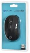 (1014608) Мышь Oklick 645MW черный оптическая (1600dpi) беспроводная USB (3but)