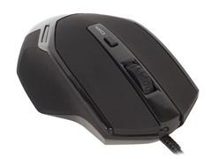 (1014613) Мышь Oklick 835G PREDATOR черный оптическая USB игровая (5but)