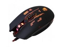 (1014584) Мышь A4 Bloody Q80B черный оптическая (3200dpi) USB игровая (6but)