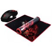 (1014588) Мышь A4 Bloody V7M71 черный оптическая (3200dpi) USB игровая (8but)