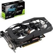 (1016094) Видеокарта Asus PCI-E DUAL-GTX1660TI-6G NV GTX1660TI 6144Mb 192b GDDR6 1500/12002 DVIx1/HDMIx2/DPx1/