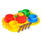 """(590030) Игрушка """"Посуда Маринка 6"""" 14 предметов 1301 590030"""