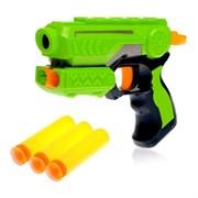 (874738) Пистолет «Меткий стрелок», стреляет мягкими пулями, цвета МИКС 874738
