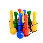 (3388316) Боулинг цветной: 9 кеглей, 2 шара 3388316