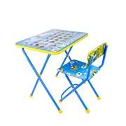 (618034) Набор детской мебели «Познайка. Азбука» складной, цвета стула МИКС 618034