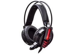 (1014625) Наушники с микрофоном Oklick HS-L450G ARROW черный 2.2м мониторы (HS-L450G)
