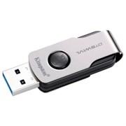 (1016182) Флеш Диск Kingston 16Gb DataTraveler DTSWIVL/16GB USB3.0 серебристый/черный