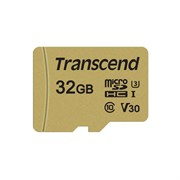 (1016199) Флеш карта microSDHC 32Gb Class10 Transcend TS32GUSD500S 500S w/o adapter