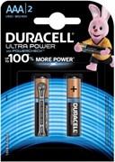 (1016221) DURACELL LR03-2BL Ultra Power (2 шт. в уп-ке)