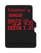 (1016245) Флеш карта microSDHC 32Gb Class10 Kingston SDCR/32GBSP Canvas React w/o adapter