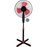 (1016280) Вентилятор напольный Polaris PSF 40V 35Вт скорост.:3 черный/красный