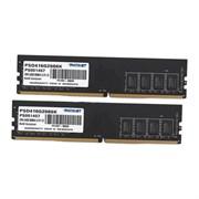 (1016420) Память DDR4 2x8Gb (16GB) PC21300 DDR4 KIT2 PSD416G2666K PATRIOT