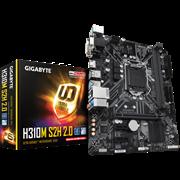 (1016464) Материнская плата Gigabyte H310M H 2.0 2.0 Soc-1151v2 Intel H310 2xDDR4 mATX AC`97 8ch(7.1) GbLAN+VGA+HDMI
