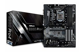 (1016462) Материнская плата Asrock B360 PRO4 Soc-1151v2 Intel B360 4xDDR4 ATX AC`97 8ch(7.1) GbLAN+VGA+DVI+HDMI