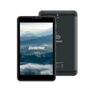 "(1016507) Планшет Digma Plane 8580 4G MTK8735V (1.0) 4C, RAM2Gb, ROM16Gb 8"" IPS 1280x800, 3G, 4G, Android 7.0, черный, 2Mpix, 0.3Mpix, BT, GPS, WiFi, Touch, microSD 128Gb, minUSB, 3200mAh"