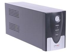 (1016583) ИБП CROWN Line Interactive CMU-SP500IEC USB 500VA\300W, корпус металл, 1x12V/4.5AH, розетки 4*IEC C13, трансформатор AVR 140-290V, cъёмный кабель питания 1.8 м, порт RJ11/45, порт USB, LED-индикация, защита: от перегрузки, от КЗ, от скачков