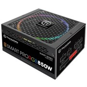(1016627) Блок питания Thermaltake ATX 850W SMART PRO RGB 80+ bronze (24+4+4pin) APFC 140mm fan color LED 9xSA