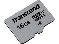 (1016623) Флеш карта microSDHC 16Gb Class10 Transcend TS16GUSD300S w/o adapter