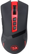 (1016607) Мышь игровая DEFENDER Redragon Blade чёрно-красная беспроводная   (2.4 ГГц USB 9 кнопок 4800 Dpi красная подсветка 1 x AA)