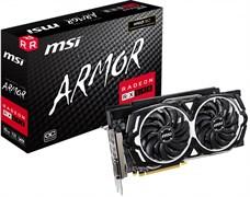 (1016602) Видеокарта MSI PCI-E RX 590 ARMOR 8G OC AMD Radeon RX 590 8192Mb 256bit GDDR5 1565 / 8000 DVIx1 / HDMIx2 / DPx2 / HDCP Ret